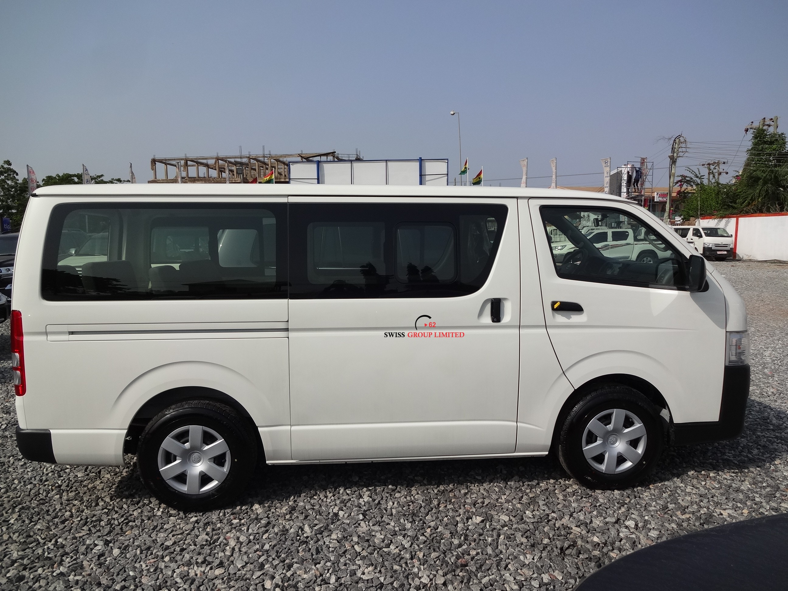 Toyota Hiace Bus Std Roof Swiss Group Limited