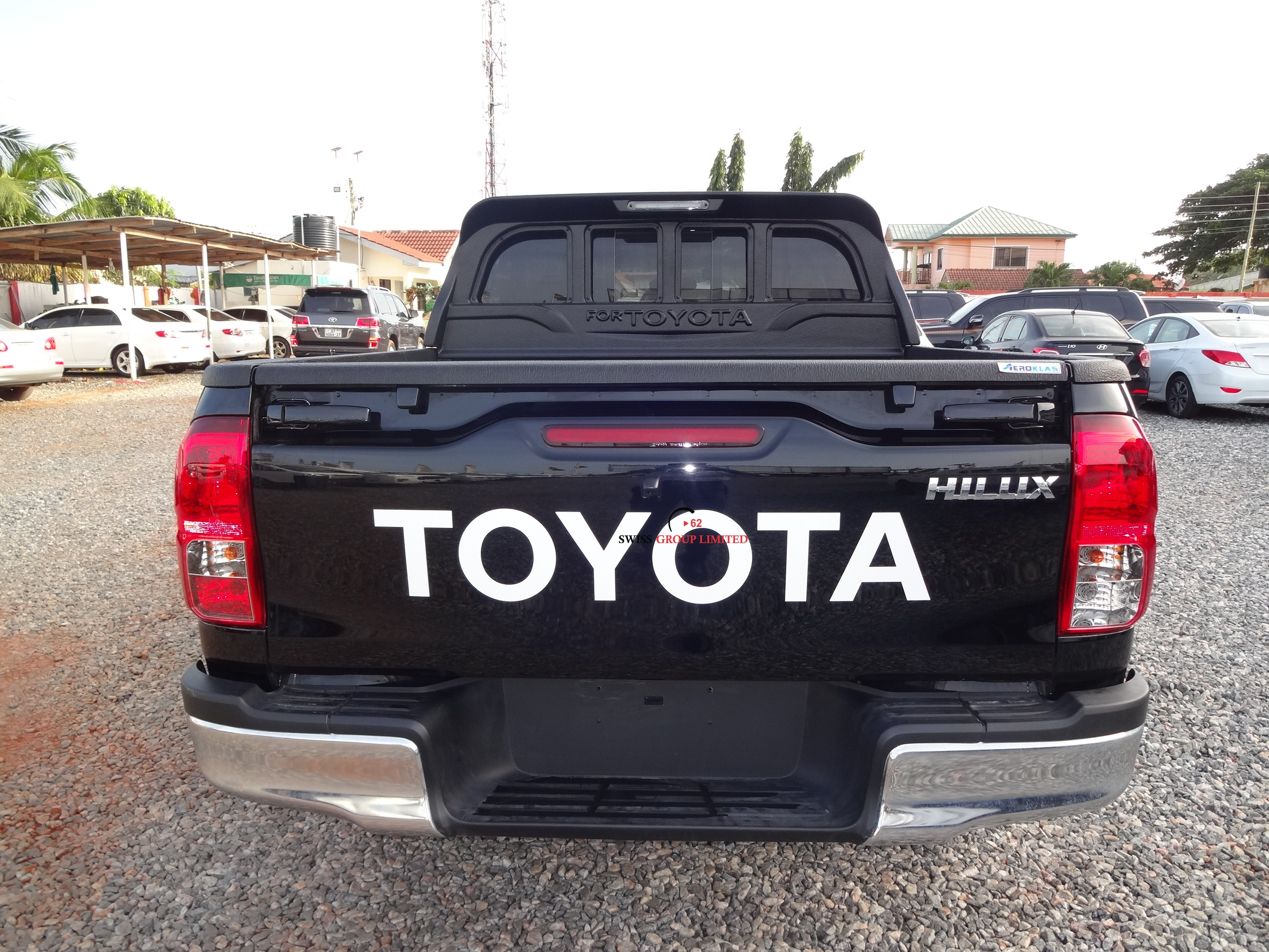 toyota hilux double cabin pick up a t swiss group limited. Black Bedroom Furniture Sets. Home Design Ideas