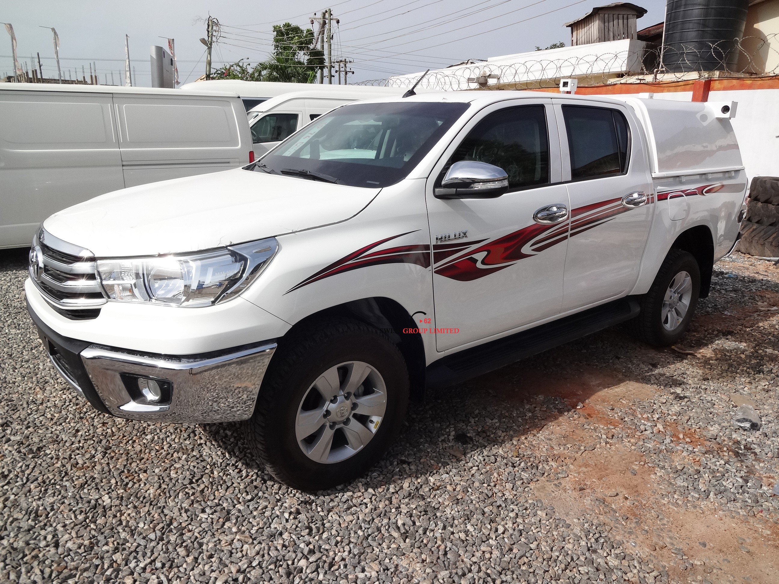 Glory Auto Sales >> Toyota Hilux Double Cabin Armored Cash Van – Swiss Group Limited