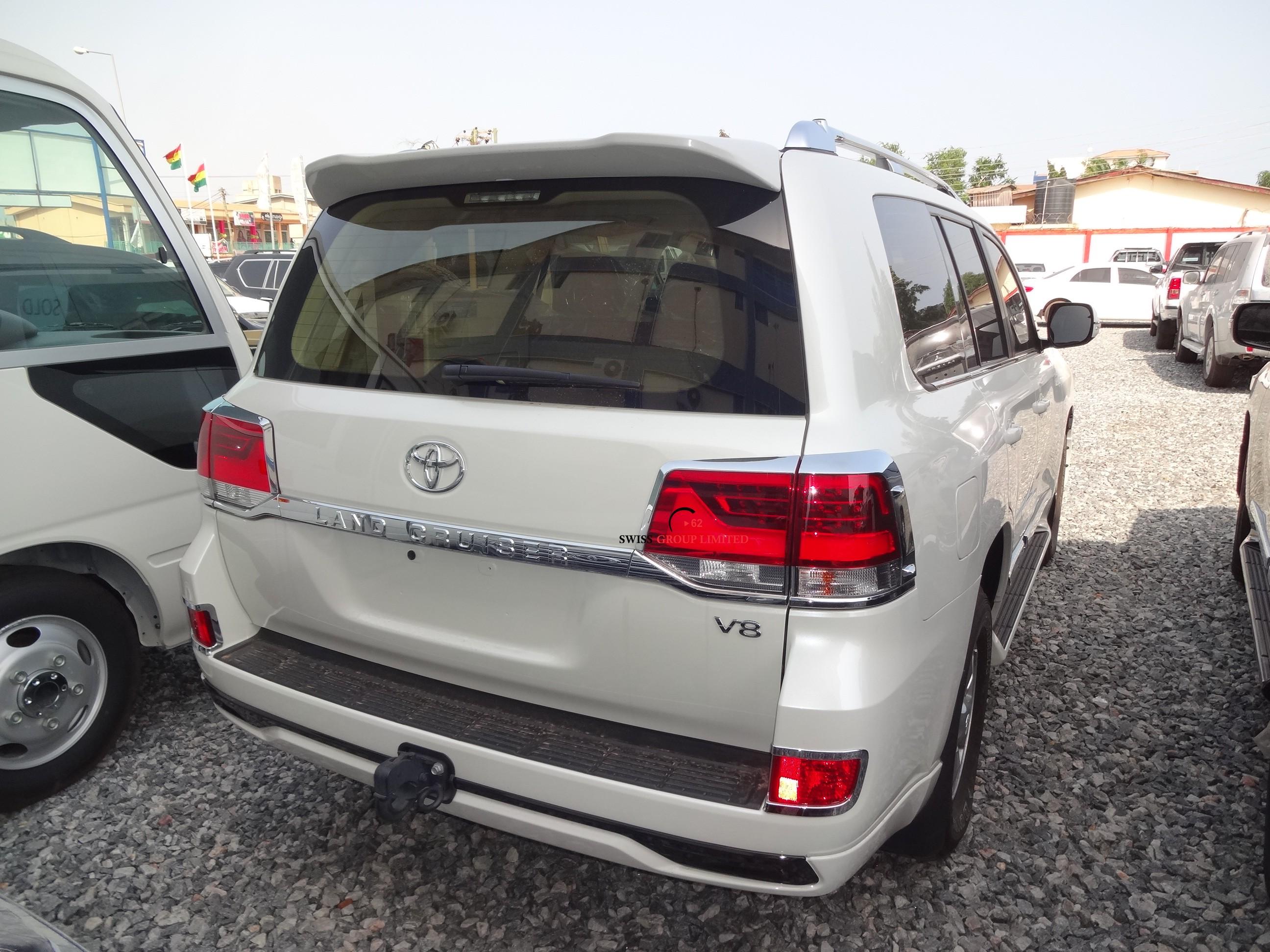 Toyota Land Cruiser Diesel >> Toyota Land Cruiser V8 White – Swiss Group Limited